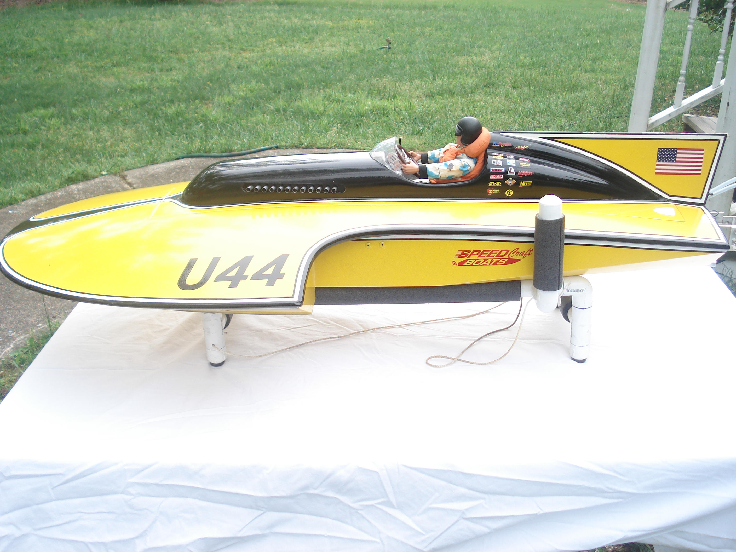 RC Gas Boats - Thunderboat