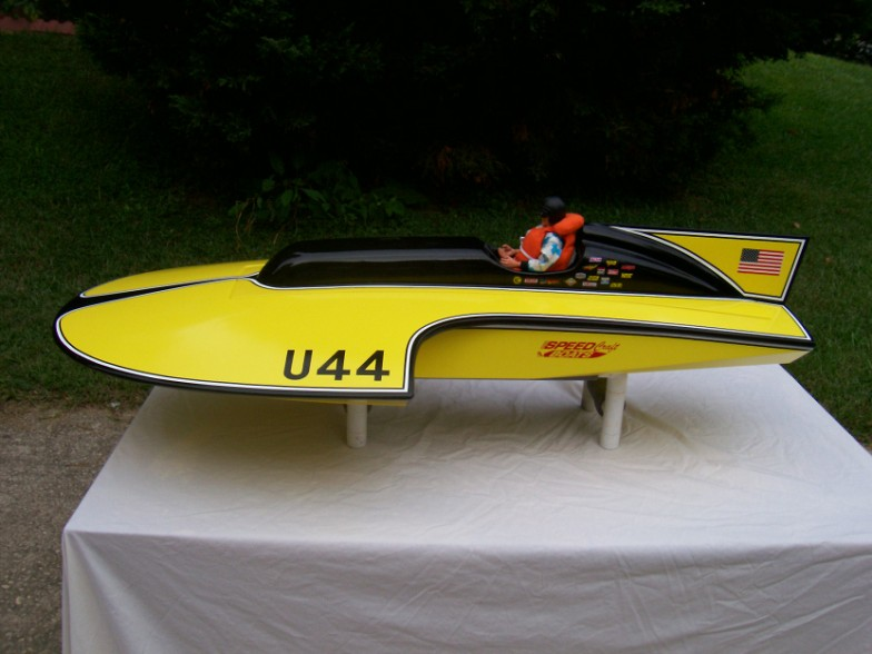 RC Race Boat Kits - Thunderboat
