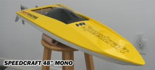 RC Gas Boats - Mono